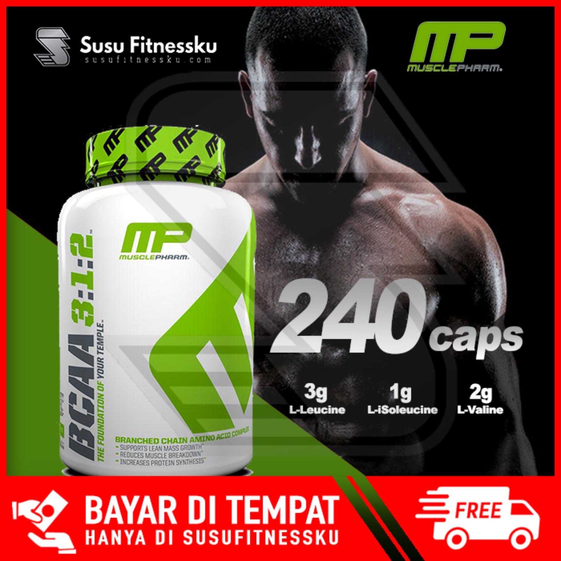Musclepharm Bcaa Mp Bcaa 3:1:2 240 Caps By Susu Fitnessku