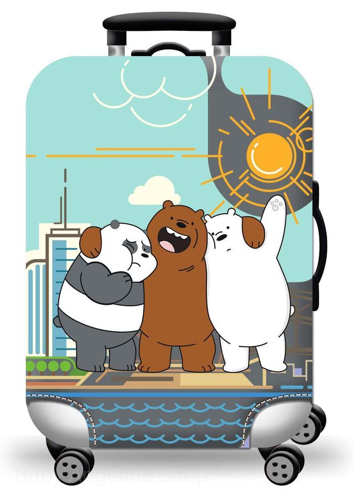 Promo We Bare Bears Elastic Luggage Cover Sarung Pelindung Koper Size L Termurah By Ruang Merdeka.