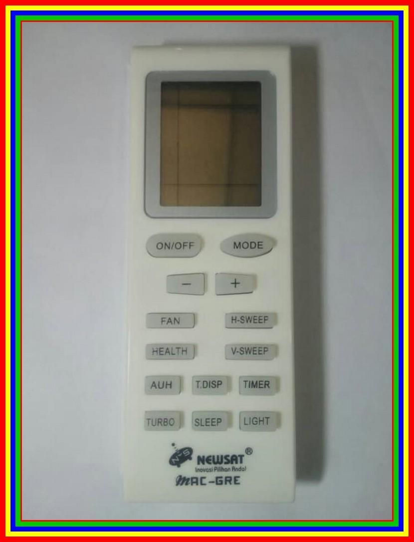 Remot Remote AC Gree Multi Universal Ns