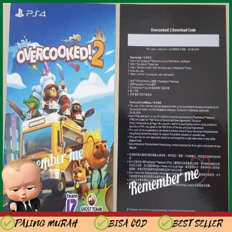 OVERCOOKED 2 PS4 Digital Download