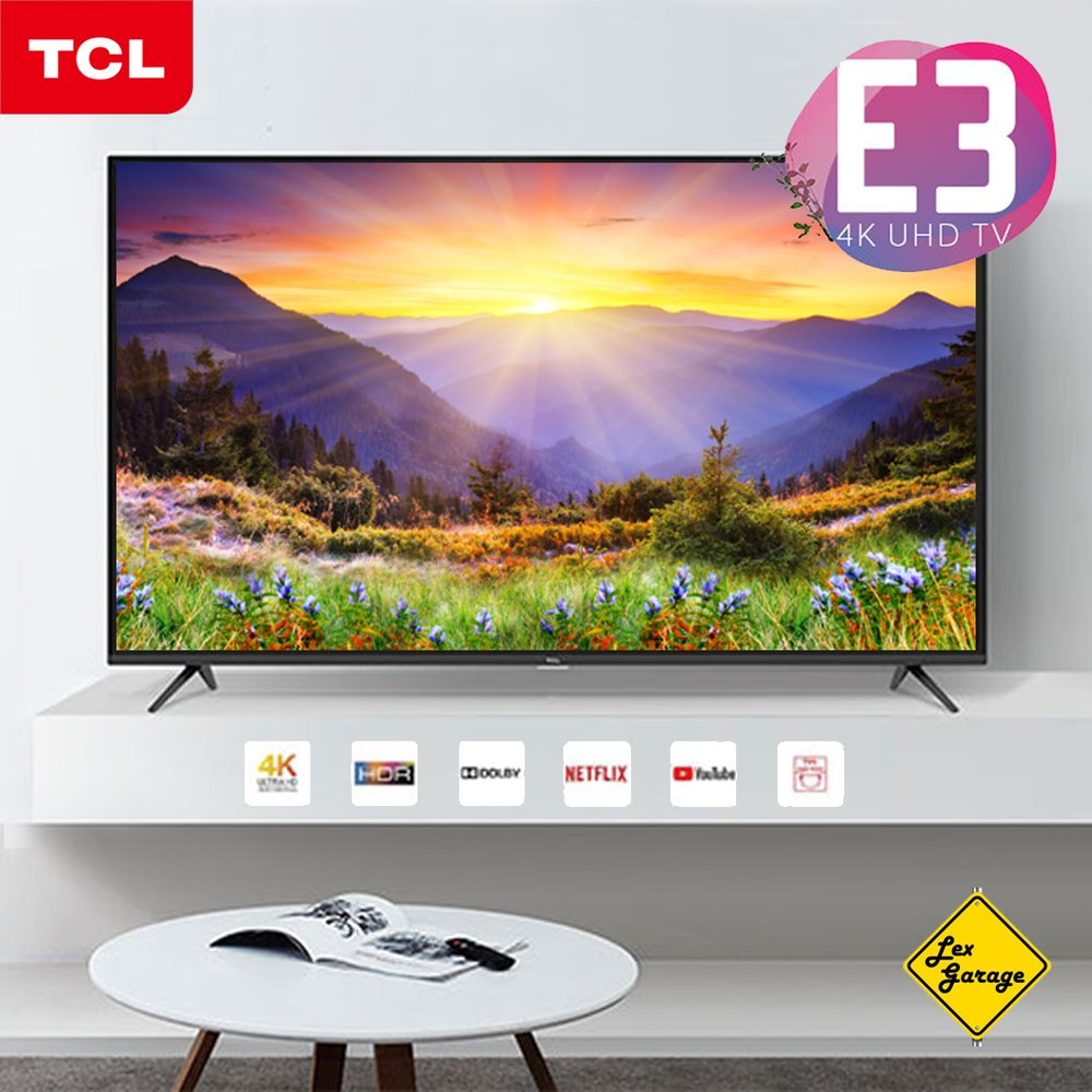 TCL LED Android Smart UHD 4K TV 55 Inch - 55A8