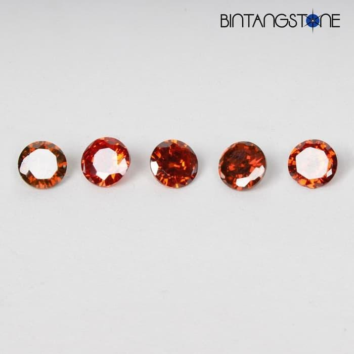 Lot 5 Pcs Red Diamond 1.3 Mm 0.01 Cts Clarity Vs-I Natural Africa Berlian Asli Wholesale By Bintang Stone.