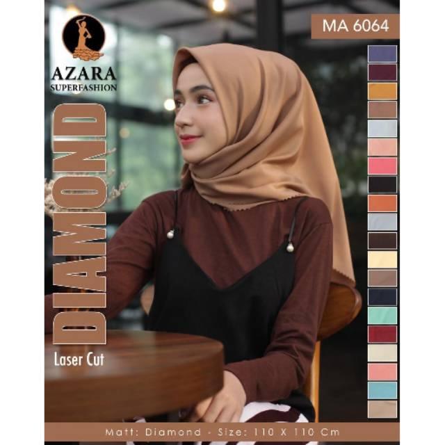 By Azara Hijab Diamond Laser Cut Standar Kerudung Segiempat Diamond Laser Cut Jilbab Diamond Segi Empat Laser Kerudung Segiempat Diamond Terbaru 2019 Uk 115 X 115 Warna Terlengkap Lazada Indonesia