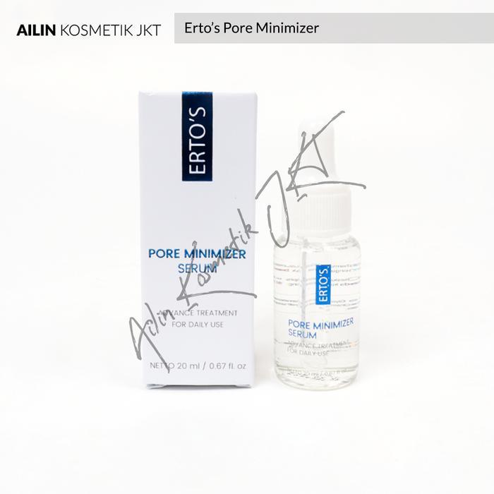 Ertos Pore Minimizer 20ml Serum Pengecil Pori Pori Erto S