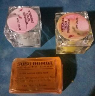 Paket Whitening Cream Susu Domba Thailand 15gram CSD Ukuran Kecil thumbnail