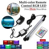 Fish Tank Led Light Colours Remote Controller Aqauarium Airstone Rgb 28Cm Os713 Xcsource Diskon 40