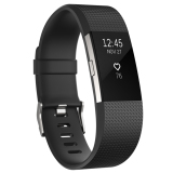 Perbandingan Harga Fitbit Charge 2 Heart Rate Fitness Wristband Size L Black Silver Di North Sumatra