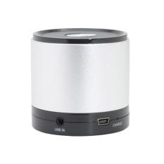 Toko Flanelade Portable Speaker Mini Bluetooth Speaker Best Quality Silver Flanelade Indonesia