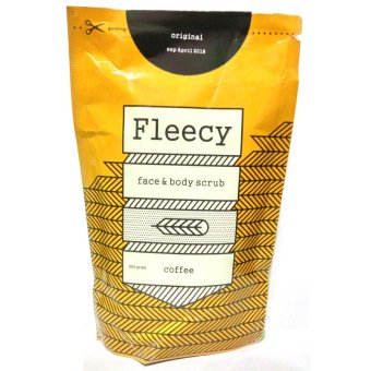 Harga baru Fleecy Face & Body Scrub Original New Pack - Coffee sale - Hanya Rp32.490