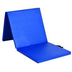 Spesifikasi Lipat 1 6 Inch Tebal Gym Latihan Yoga Crunches Dancing Folding Mat