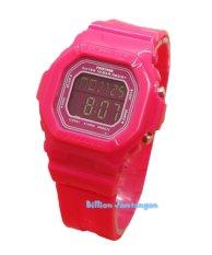 Review Toko Fortuner F9028 Jam Tangan Wanita Karet Pink