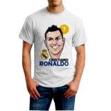 Diskon Fourstuff Kaos Pria Sablon Karakter Ronaldo Putih Branded