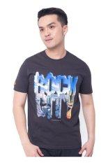 Jual Cepat F P T Shirt Rock City Charcoal