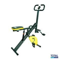 Toko Free Ongkir Jabodetabek Total Fitness Tl 8218 Kuning Sepeda Olahraga Fitness 2In1 Exercise Bike Lengkap