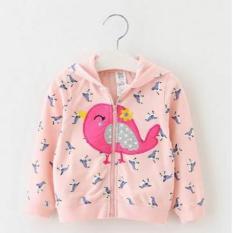 Jual Freeshop Jaket Anak Bayi Material Fleece Bird F994 Pink Freeshop Branded