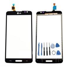 Digitizer Kaca Layar Sentuh Depan untuk LG Optimus L3 II Dual E435 dengan ALAT BANTU GRATIS