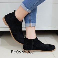 Review Fuboshoes Sepatu Wanita Kets Casual Ph06 Hitam Uk 36 Fuboshoes Di Indonesia