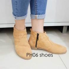 Beli Barang Fuboshoes Sepatu Wanita Kets Casual Ph06 Tan Uk 36 Online