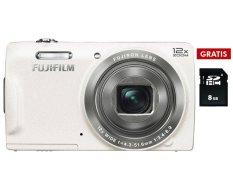 Jual Fujifilm Finepix T500 12X Zoom Putih Sdhc 8Gb Baru