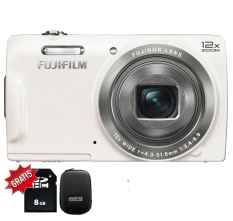 Fujifilm Finepix T550 - 12x OpticalZoom - Putih + SDHC 8GB