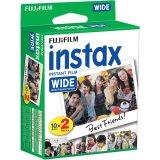 Beli Fujifilm Refill Instax Wide Film Twinpack Plain 20 Lembar Pake Kartu Kredit