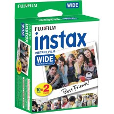 Toko Fujifilm Refill Instax Wide Film Twinpack Plain 20 Lembar Online Terpercaya