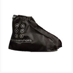 Funcover Distributor Jas Sepatu Cover Shoes - Hitam