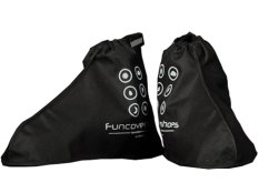 Funcover New Jas Hujan Sepatu / Cover Shoes V.02 - Hitam