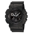 Jual G Shock Casio Ga 100 1A1 Jam Tangan Pria Hitam Resin Casio G Shock Online
