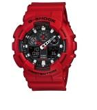 Promo Toko G Shock Casio Ga 100B 4A Jam Tangan Pria Merah Resin