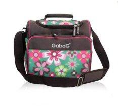 Promo Gabag Cooler Bag Sling Flower Tas Penyimpan Asi Gabag