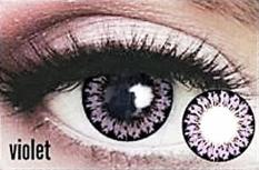 Gel Macaron Softlens - Violet + Free Lenscase