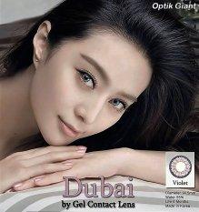Gel New Dubai Softlens - Violet + Free Lenscase