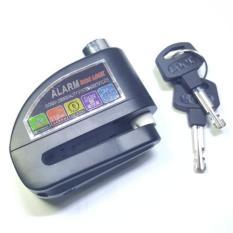 Toko Gembok Alarm Disc Atau Cakram Motor Hitam Termurah