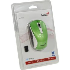 Review Terbaik Genius Wms Gn Nx7010 3 Mouse Wireless Genius Nx 7010 Green Light