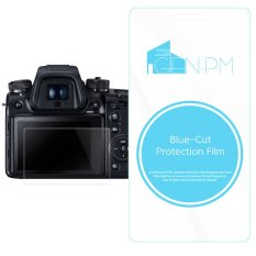 Genpm Blue-Cut Protection Film For Sony A300 A350 Camera 2PCS