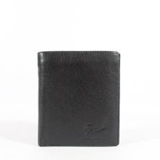 Giorgio Agnelli - Dompet Kulit Pria - Hitam - Kulit Asli - GA Milling 914 R Black