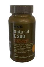 Harga Gnc Natural E 200 100 Kapsul Lunak Gnc