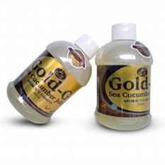 Gold G Herbal Jelly Gamat Sea Cucumber 320 Ml Isi 2 Botol Gold G Diskon 40