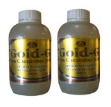 Gold G Herbal Jelly Gamat Sea Cucumber 500Ml 2 Botol Jawa Barat