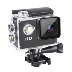 Goldfox SJ4000 720 P HD 2 Inch Tahan Air Olahraga Action Camera HelmetBike Mobil Camcorder CAM Mount A8 (Hitam) -Intl