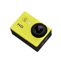 Goldfox SJ4000 720P HD 2 inch Waterproof Sport Action Camera HelmetBike Car Camcorder CAM Mount A8 (Yellow)