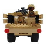 Review Goodang Bloks Bricks Mobilan Tentara Cargo Troop Khaki Goodang Di Dki Jakarta