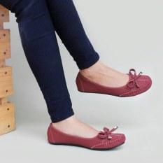 Beli Barang Gratica Sepatu Flat Shoes Dr51 Maroon Online