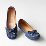 Obral Gratica Sepatu Flat Shoes Dr51 Navy Murah