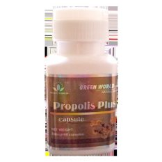 Jual Green World Propolis Plus Capsule Branded Original