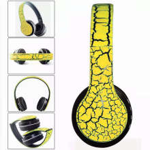 GStation P23 Bluetooth 4.1 Headset Foldable Stereo Headphones With Mic,FM,TF Card - Yellow