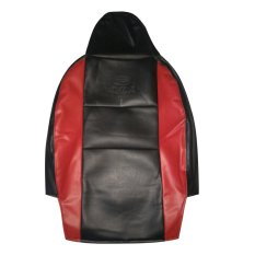 Gudang Leather Sarung Jok Mobil - Ayla/Agya - Ferrari - Merah-Hitam