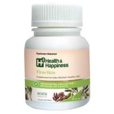 Review H2 Health Happiness Firm Skin Botol 30 Kaplet Di Dki Jakarta
