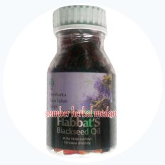Katalog Habbatusauda Habbat S Black Seed Oil 210Kapsul Habbatusauda Terbaru